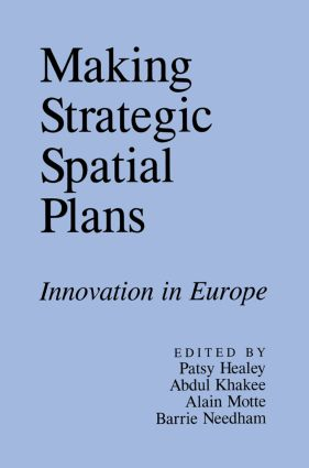 Making Strategic Spatial Plans (Paperback) book cover
