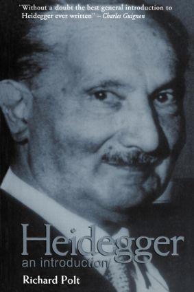 Heidegger: An Introduction, 1st Edition (Paperback) book cover