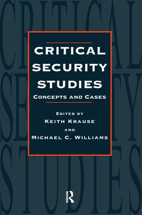 Critical Security Studies: Concepts And Strategies, 1st Edition (Paperback) book cover