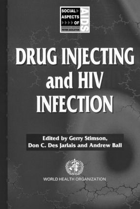 Drug Injecting and HIV Infection (Paperback) book cover