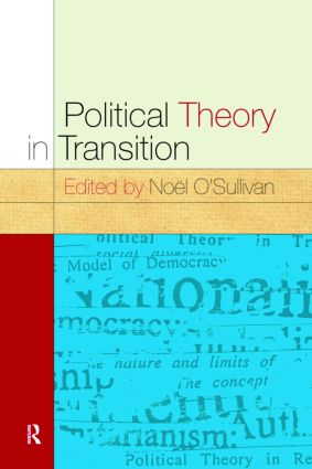 Political Theory In Transition: 1st Edition (Paperback) book cover