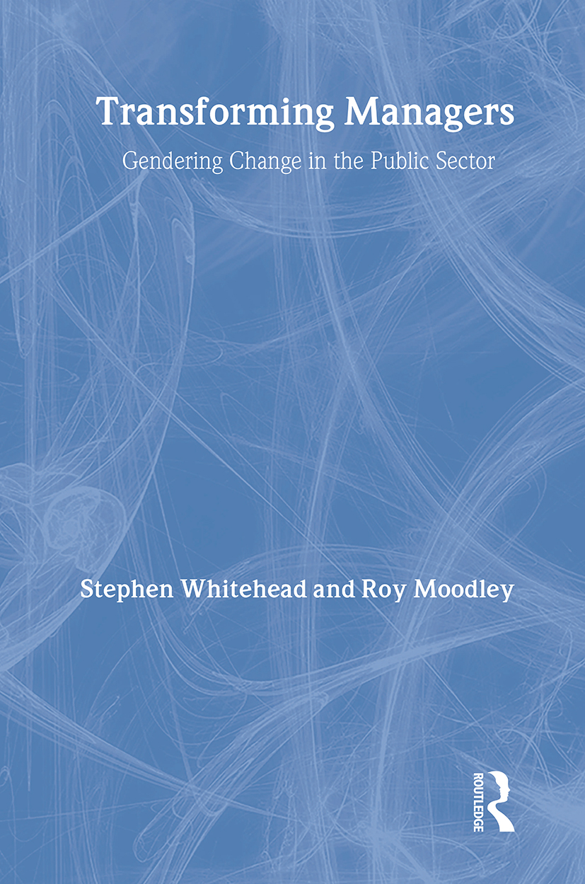 Transforming Managers: Engendering Change in the Public Sector (Paperback) book cover