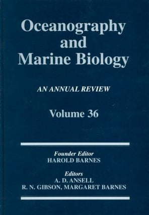 Oceanography And Marine Biology: An Annual Review: Volume 36 (Hardback) book cover