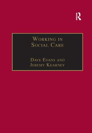 Working in Social Care: A Systemic Approach book cover