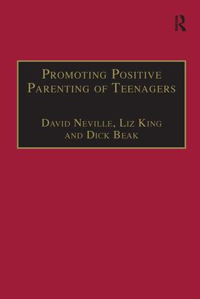 Promoting Positive Parenting of Teenagers: 1st Edition (e-Book) book cover