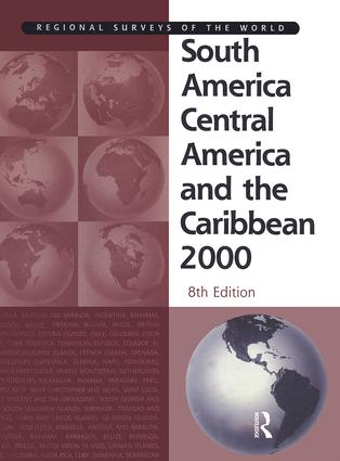 South America 2000: 1st Edition (Hardback) book cover
