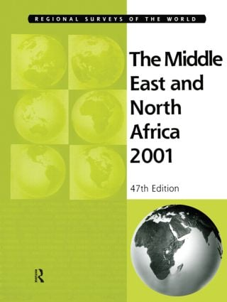 Middle East & Nth Africa 2001: 47th Edition (Hardback) book cover