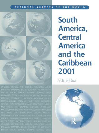 South America 2001: 9th Edition (Hardback) book cover