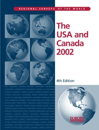 The USA and Canada 2002: 4th Edition (Hardback) book cover