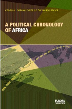 A Political Chronology of Africa (Hardback) book cover