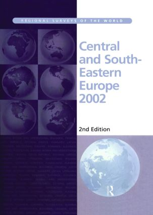 Central and South-Eastern Europe 2002: 2nd Edition (Hardback) book cover