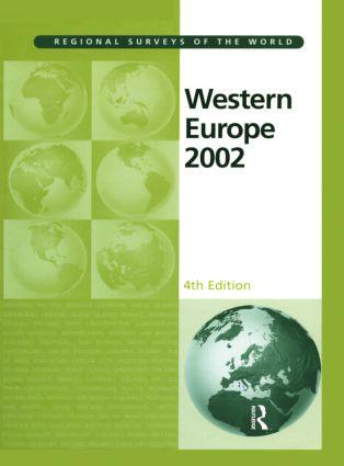 Western Europe 2002: 4th Edition (Hardback) book cover