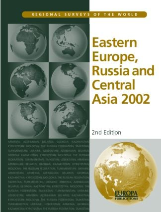 Eastern Europe, Russia and Central Asia 2002: 2nd Edition (Hardback) book cover