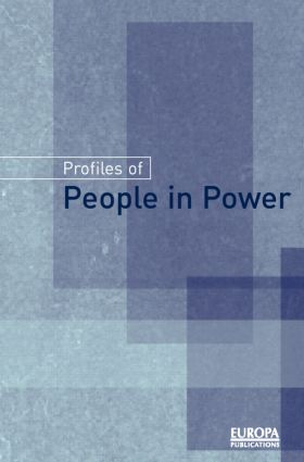 Profiles of People in Power: The World's Government Leaders, 1st Edition (e-Book) book cover