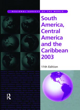 South America, Central America and the Caribbean 2003: 1st Edition (Hardback) book cover