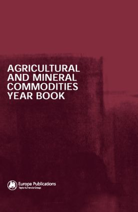 Agricultural and Mineral Commodities Year Book (Hardback) book cover