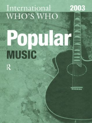 International Who's Who in Popular Music 2003 book cover
