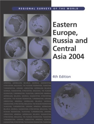 Eastern Europe, Russia and Central Asia 2004: 1st Edition (Hardback) book cover