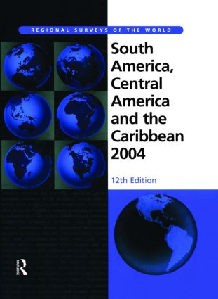 South America, Central America and the Caribbean 2004: 1st Edition (Hardback) book cover