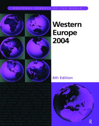 Western Europe 2004: 1st Edition (Hardback) book cover