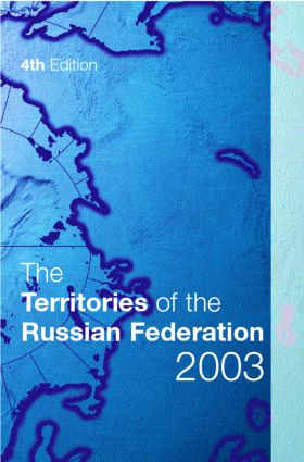 The Territories of the Russian Federation 2003 book cover