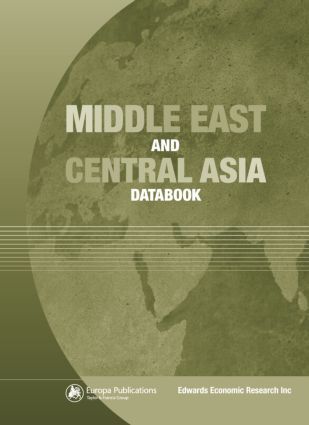 The Middle East and Central Asia Databook: 1st Edition (Hardback) book cover