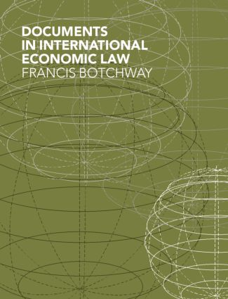 Documents in International Economic Law book cover