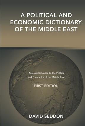 A Political and Economic Dictionary of the Middle East (Hardback) book cover