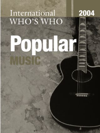 International Who's Who in Popular Music 2004 book cover