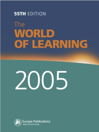 The World of Learning 2005: 55th Edition (Hardback) book cover