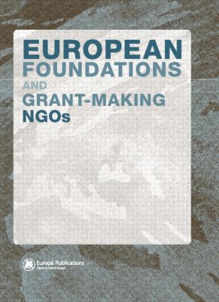 European Foundations and Grant-Making NGOs (Hardback) book cover