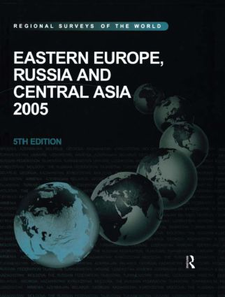 Eastern Europe, Russia and Central Asia 2005: 5th Edition (Hardback) book cover