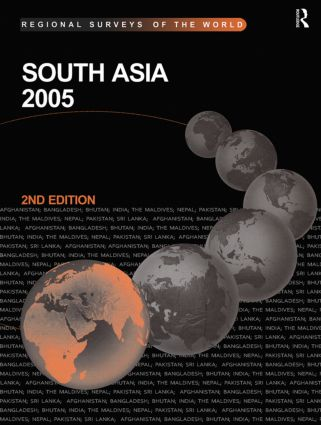 South Asia 2005: 2nd Edition (Hardback) book cover