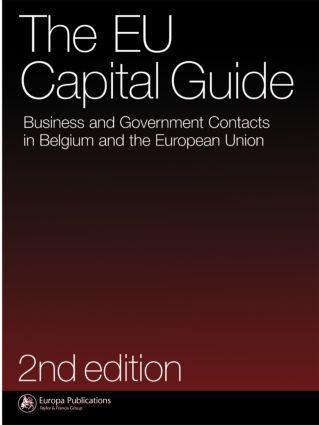 The EU Capital Guide: 1st Edition (Hardback) book cover