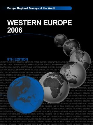 Western Europe 2006 book cover