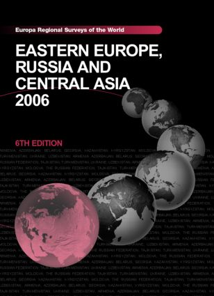 Eastern Europe, Russia and Central Asia 2006 book cover