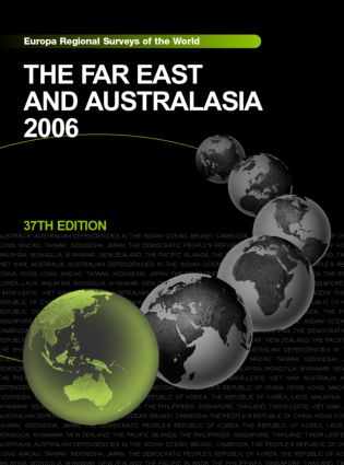 The Far East and Australasia 2006 book cover