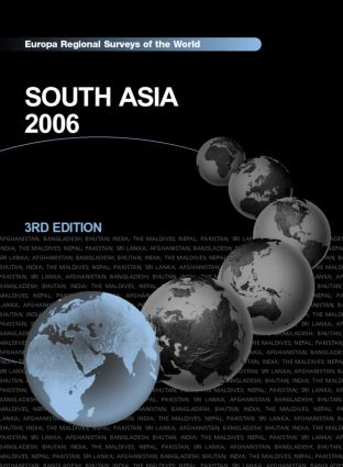 South Asia 2006 book cover