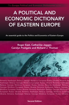 A Political and Economic Dictionary of Eastern Europe book cover