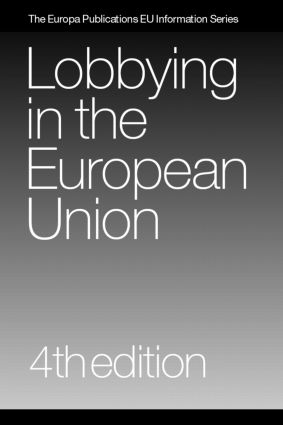Lobbying in the European Union book cover