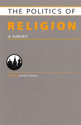 Politics of Religion: A Survey (Hardback) book cover