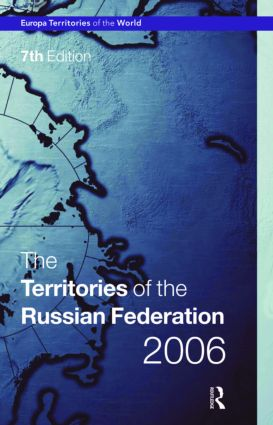 Territories of the Russian Federation 2006 book cover