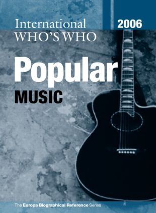 International Who's Who in Popular Music 2006 book cover