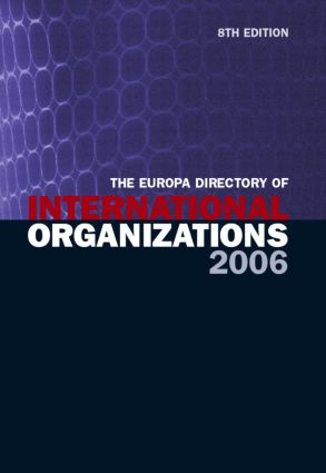 The Europa Directory of International Organizations 2006 book cover
