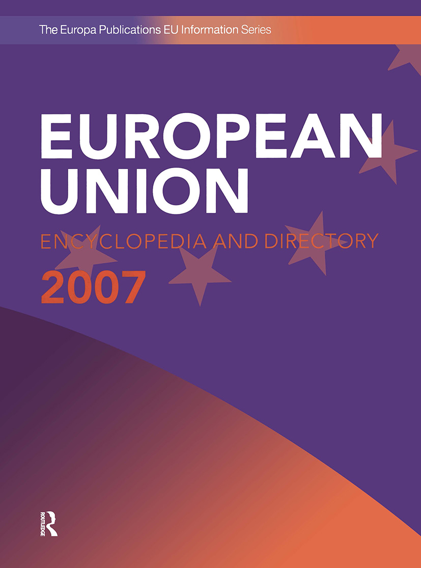 European Union Encyclopedia and Directory 2007 book cover