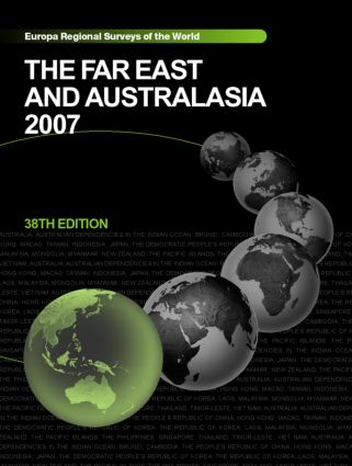 The Far East and Australasia 2007: 38th Edition (Hardback) book cover