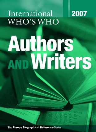 International Who's Who of Authors and Writers 2007: 22nd Edition (Hardback) book cover