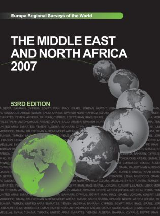 The Middle East and North Africa 2007: 53rd Edition (Hardback) book cover