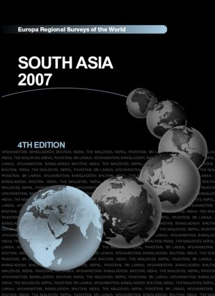 South Asia 2007: 4th Edition (Hardback) book cover