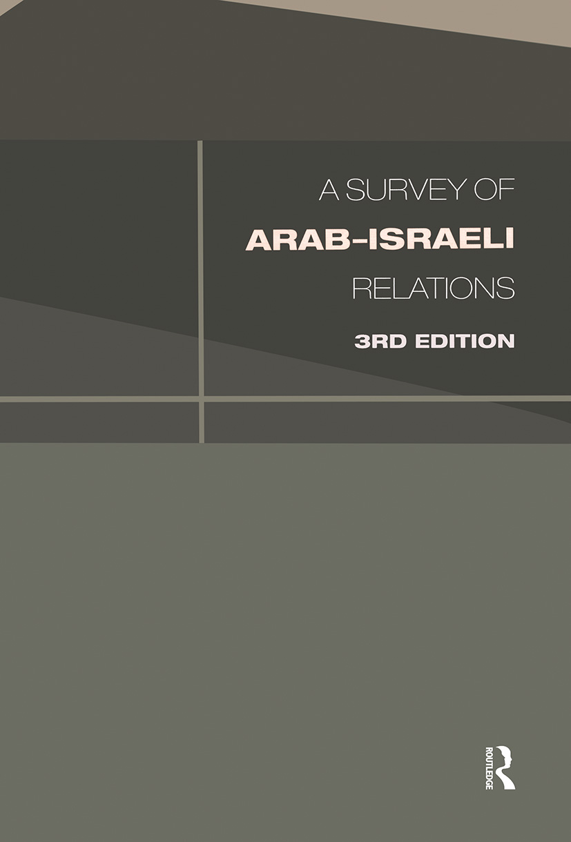 Survey of Arab-Israeli Relations book cover